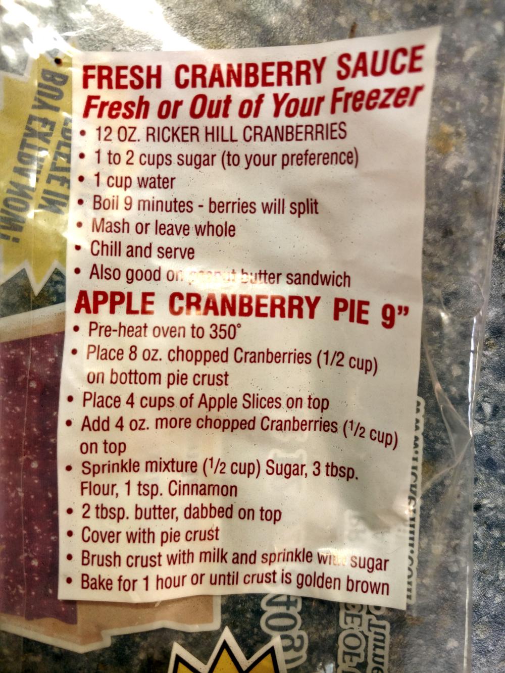 Recipe Handmade Cranberry Sauce Luna Pier Cook